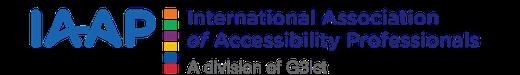 IAAP logo.